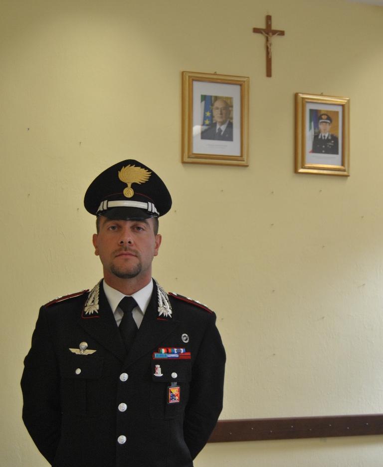 Il tenente daniele carletti nuovo comandante della for Cambio orario volo da parte della compagnia