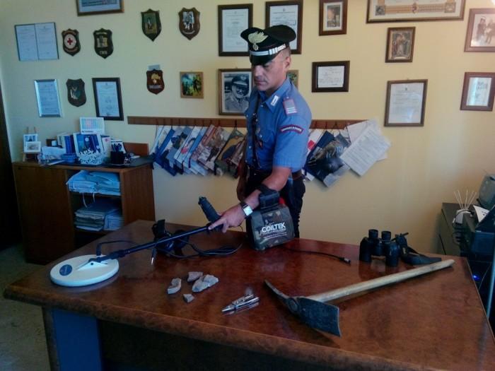 Prizzi: denunciati tre tombaroli a caccia di reperti$