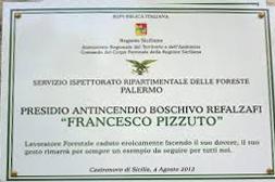 Medaglia d'oro al valor civile per Francesco Pizzuto.