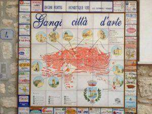 cartina gangi