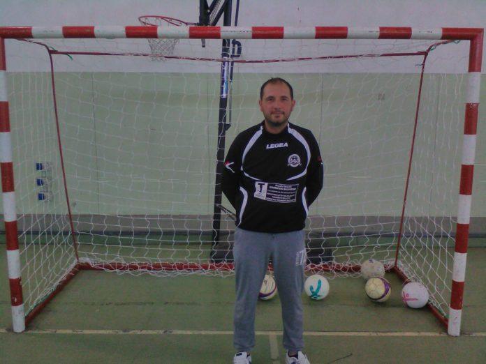 Giuseppe Russotto, tecnico del Gemini Futsal. FOTO GIUSEPPE VARSALONA